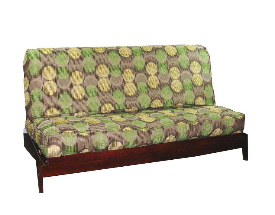 Thompkins Heavy Texture Box Cushion Futon Slipcover