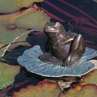 Frog Brass Brass Lazy Frog Fountain