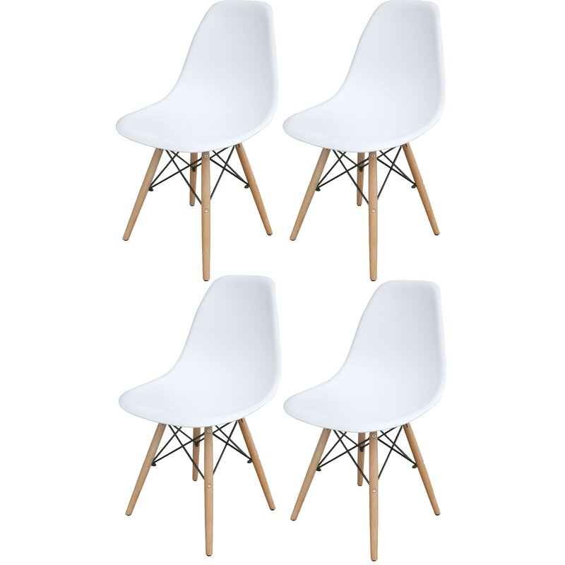 Stembridge Solid Wood Side Chair (Set of 4)