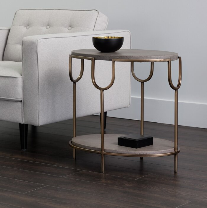 Grannis End Table