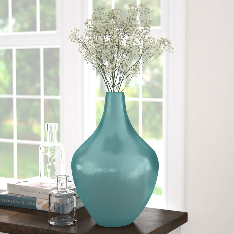 Cia Amphora Glass Table Vase