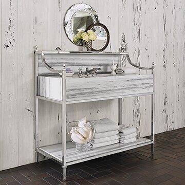 "Apron 50"" Single Bathroom Vanity"