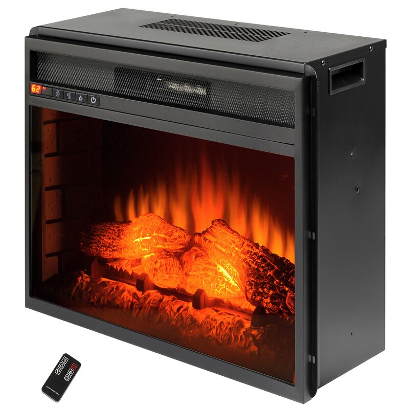 Wood Burning Electric Fireplace Insert