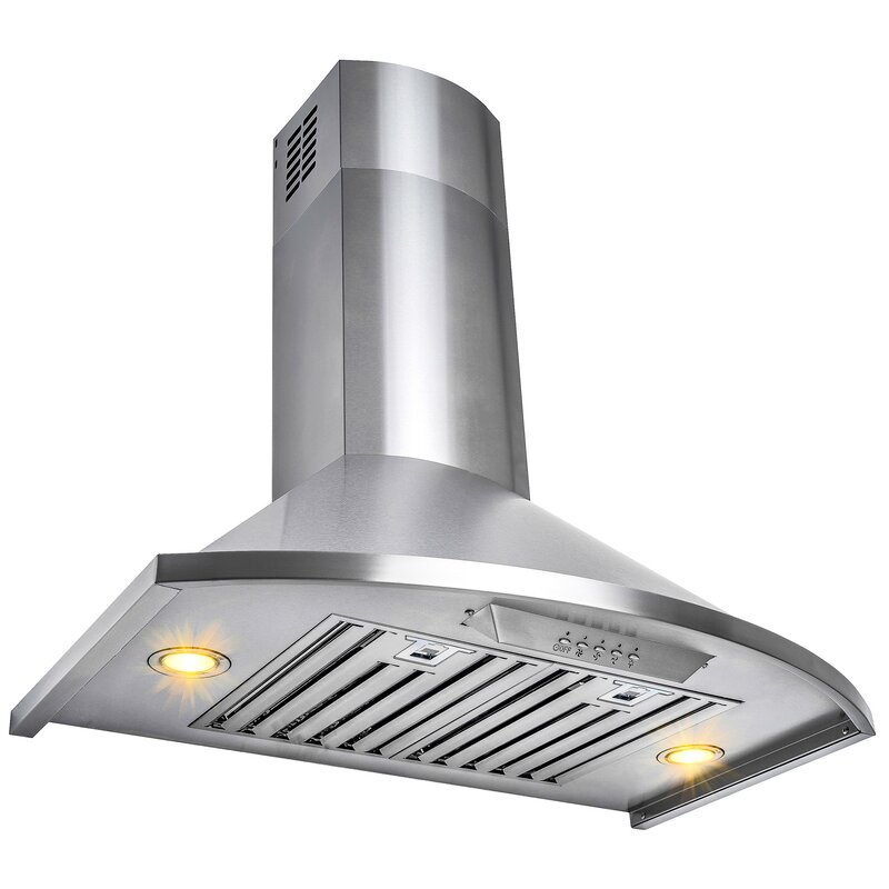 "30"" 343 CFM Convertible Wall Mount Range Hood"