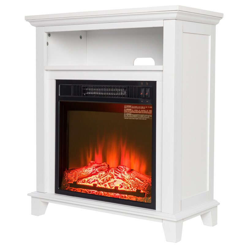Wood Mantel Electric Fireplace