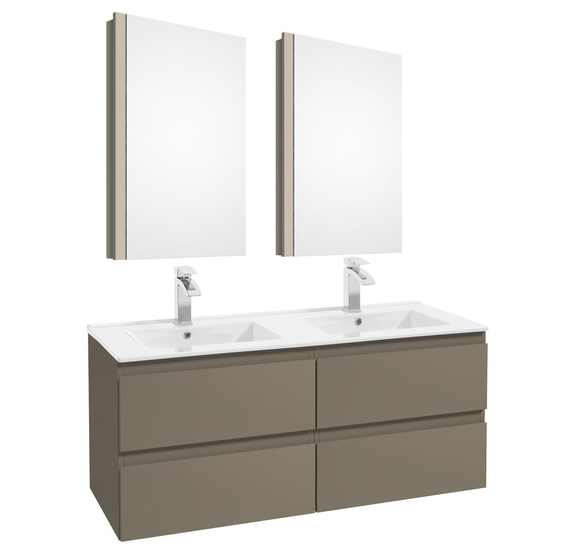 "Middlebrook 47"" Double Bathroom Set"