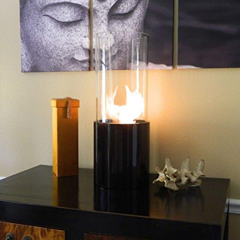 Nu-Flame Doppio Noir Bio-Ethanol Tabletop Fireplace
