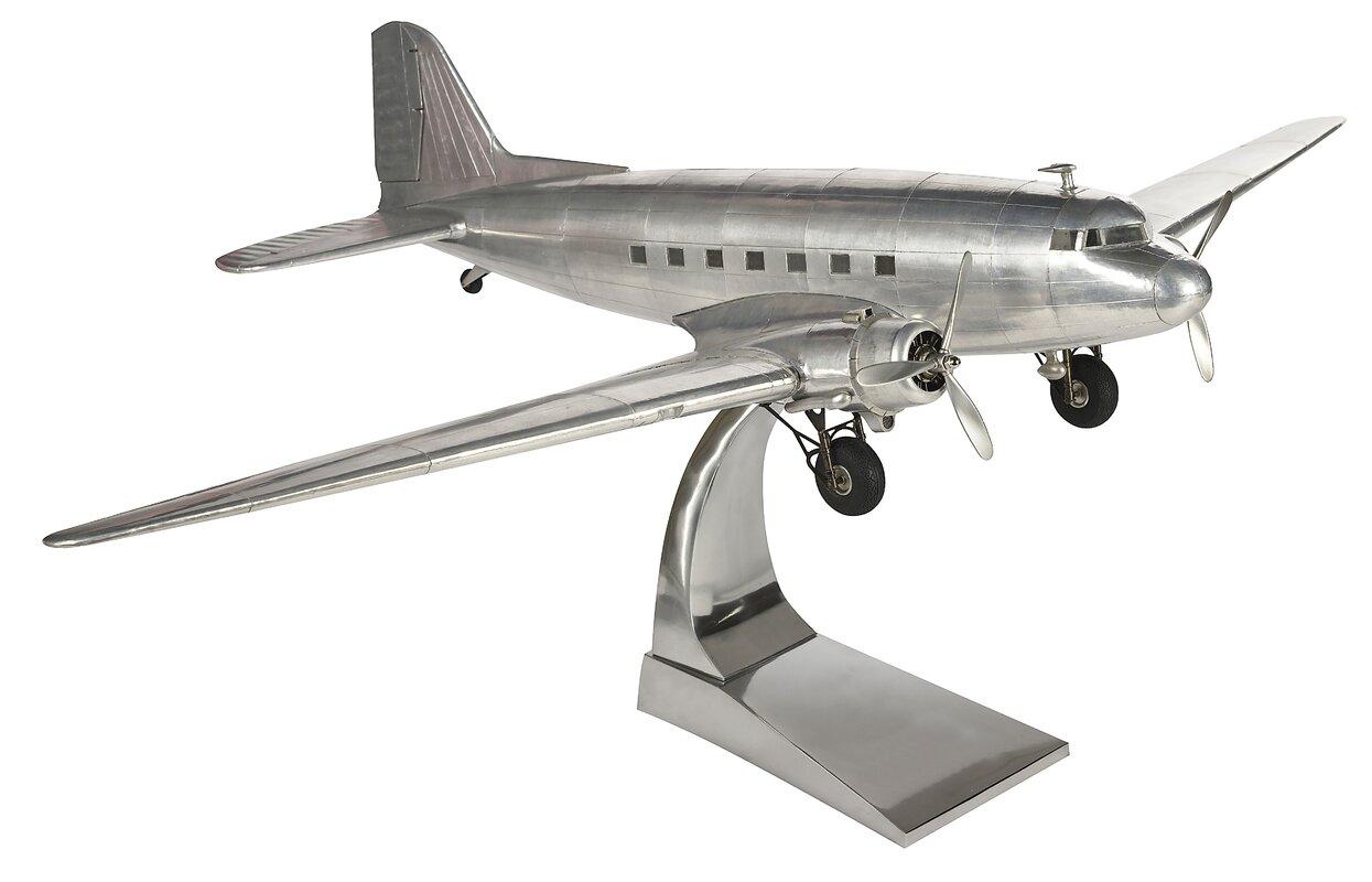 Dakota DC-3 Plane Sculpture