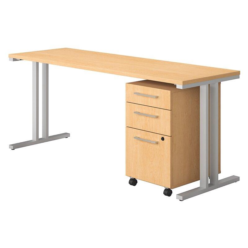 400 Series 2 Piece Desk Office Suite