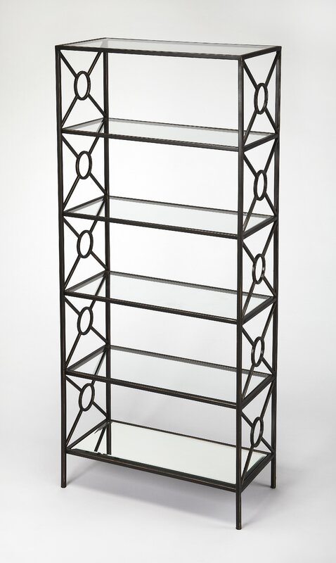 Knaus Metal Etagere Bookcase