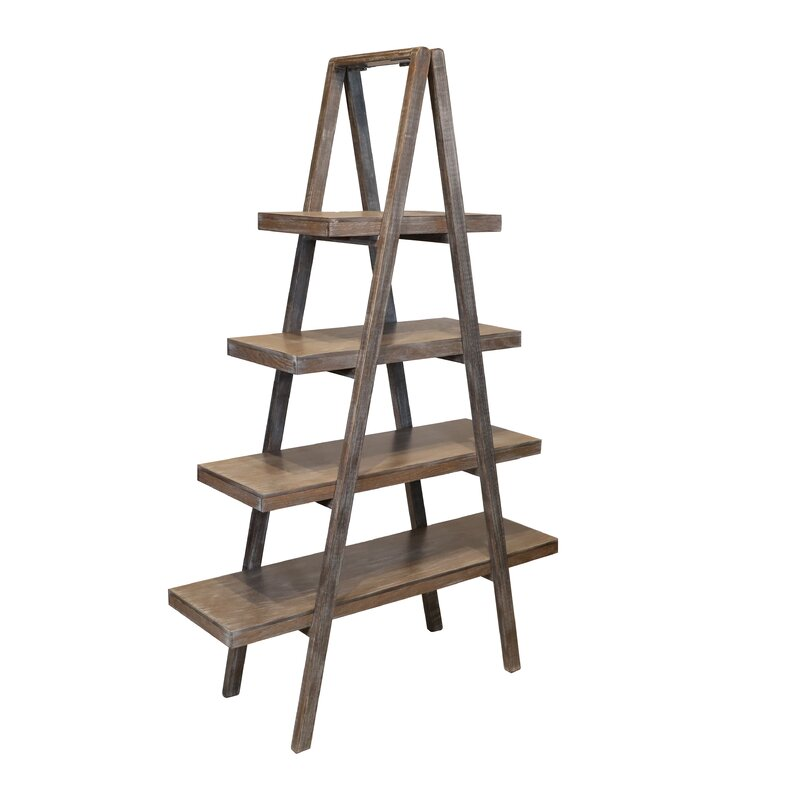 Goggans Anaquel Ladder Bookcase