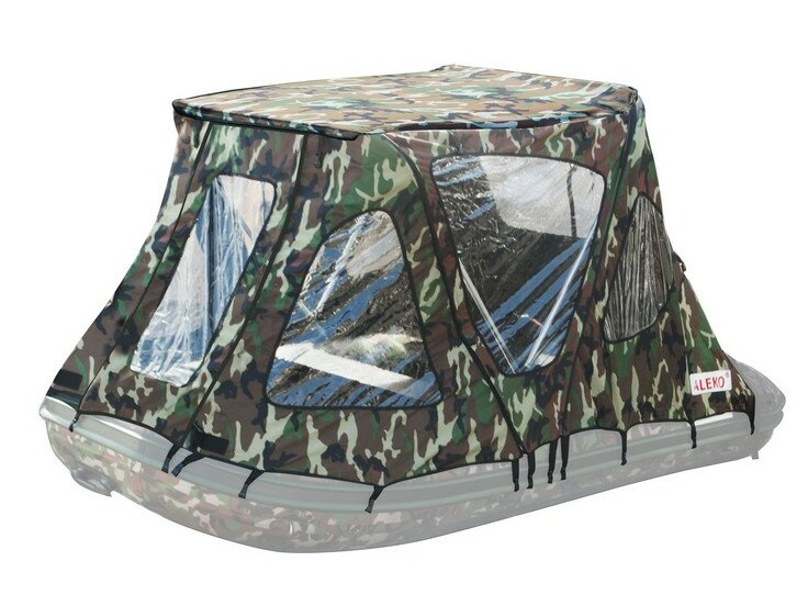 Winter Canopy Boat Rain Sun Wind Snow Waterproof Covering 2 Person Tent