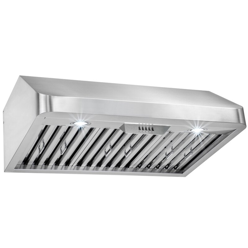 "30"" 492 CFM Ducted Under Cabinet Range Hood"