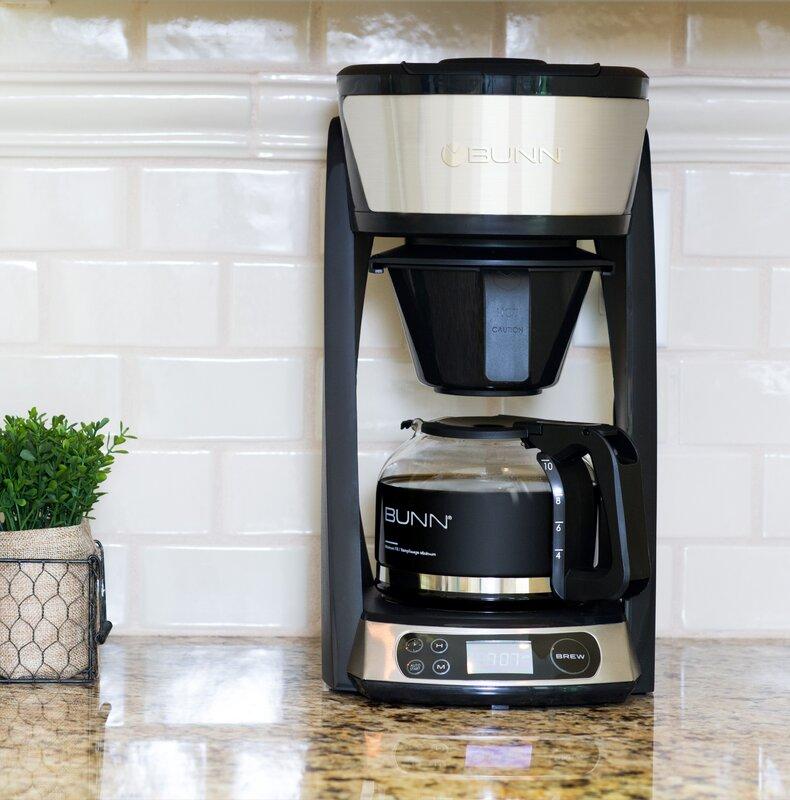 10-Cup HB Heat N' Brew Programmable Coffee Maker