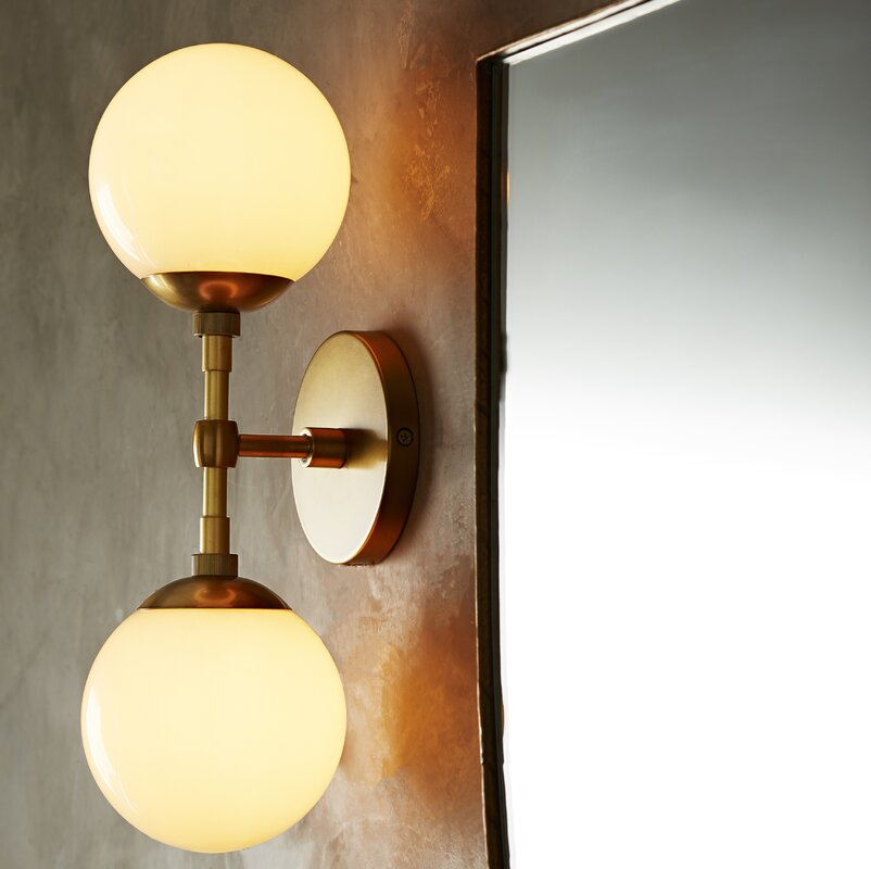 Polaris 2-Light Armed Sconce