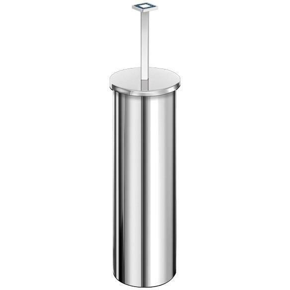 Angel Swarovski Round Free-Standing Toilet Brush Set