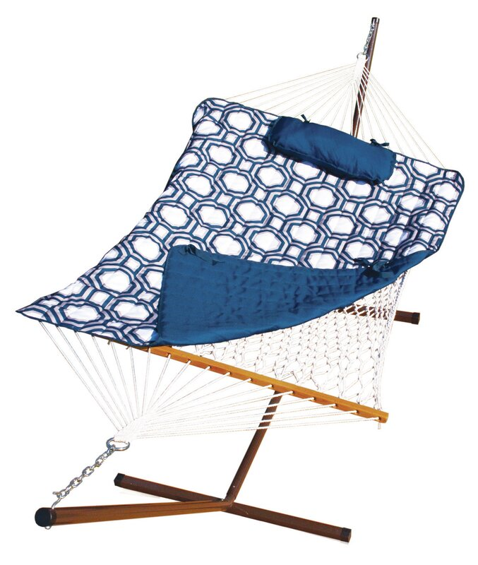 Stinson Cotton Hammock with Stand