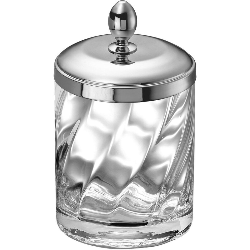 Inglestone Common Cotton Ball Swab Jar