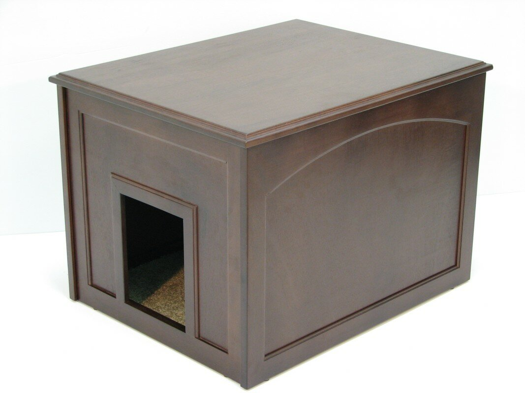 Aquarius Cat Condo & Litter Box Enclosure