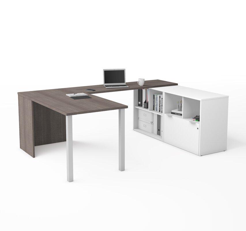Prattsburgh Reversible U-Shape Executive Desk