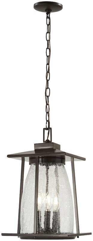 Helmick 4-Light Outdoor Hanging Lantern