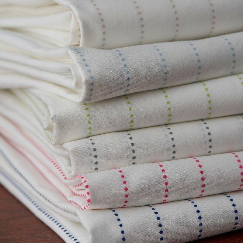 Spencer Basketweave 212 Thread Count 100 Cotton Sheet Set