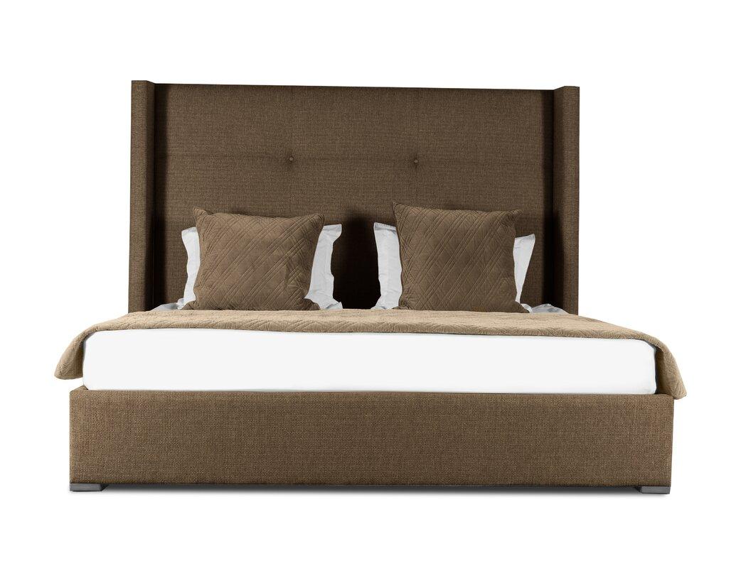 Hansen Upholstered Panel Bed