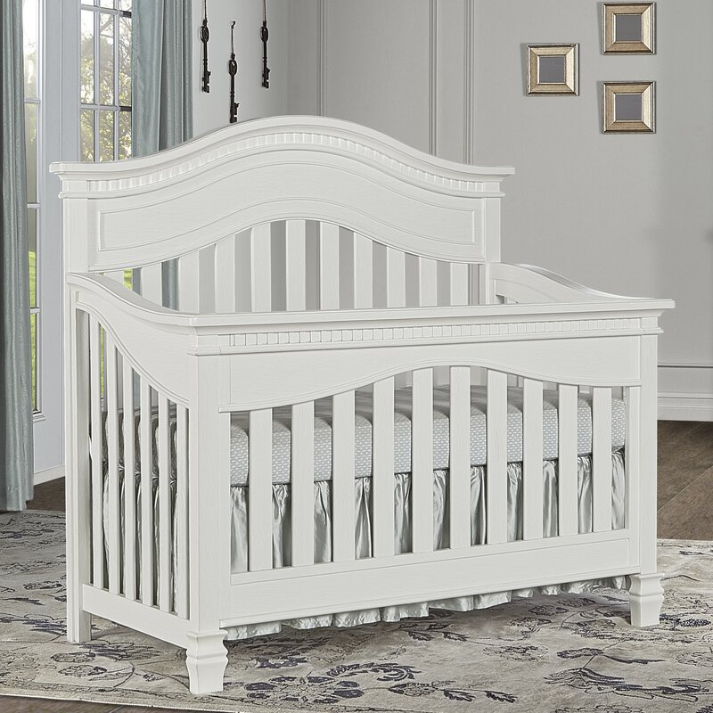 Evolur Cheyenne 5 in 1 Convertible Crib