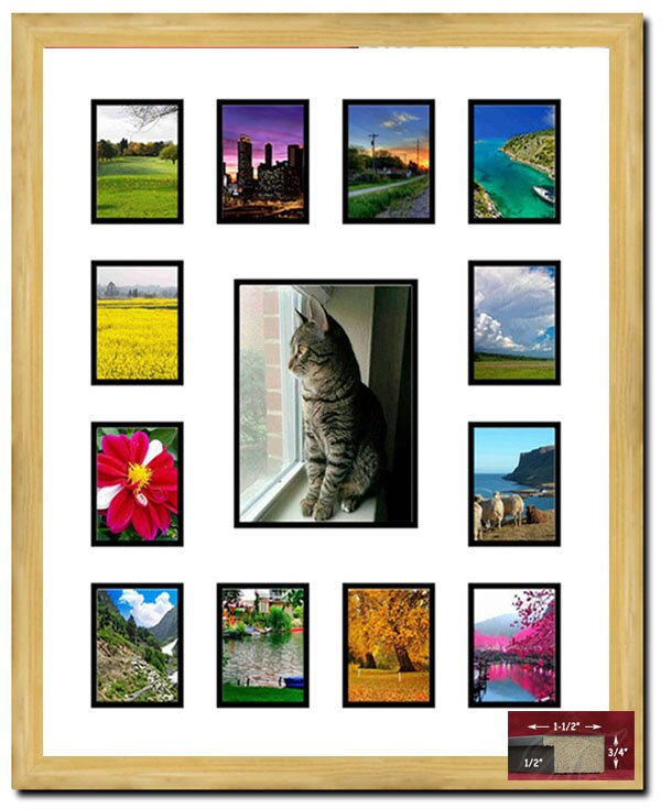 Drumack 13 Opening Picture Frame