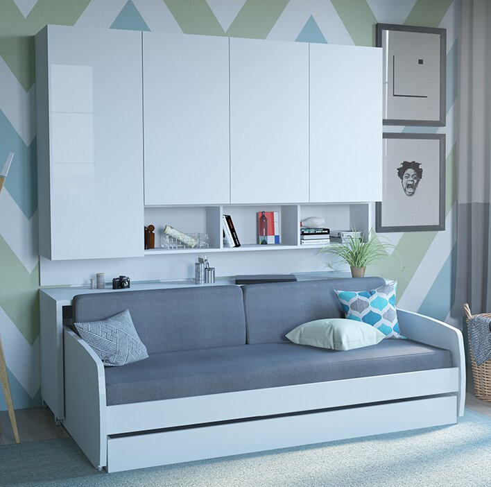 Rincon Compact Full/Double Murphy Bed