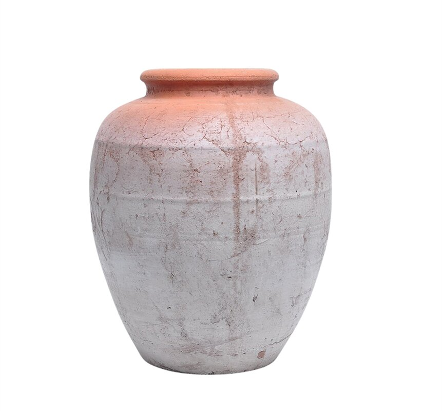 Filler Look Ceramic Urn Planter