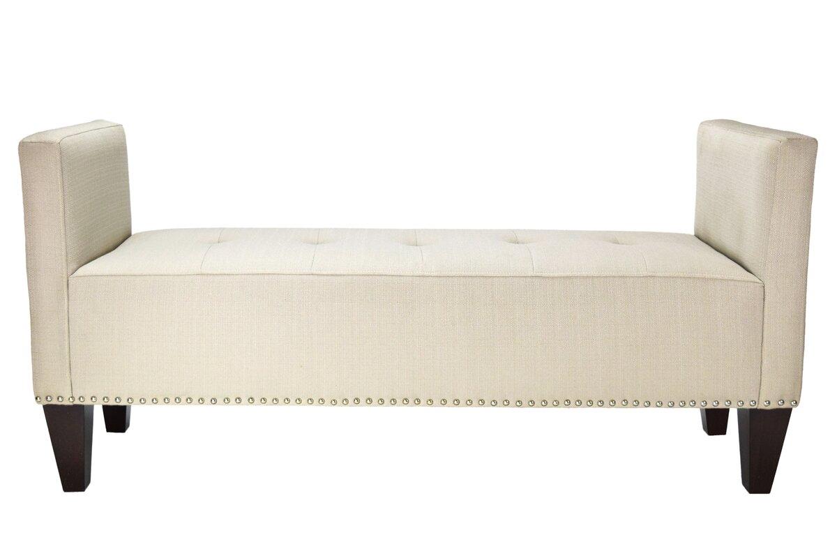 Hisle Upholstered Bench