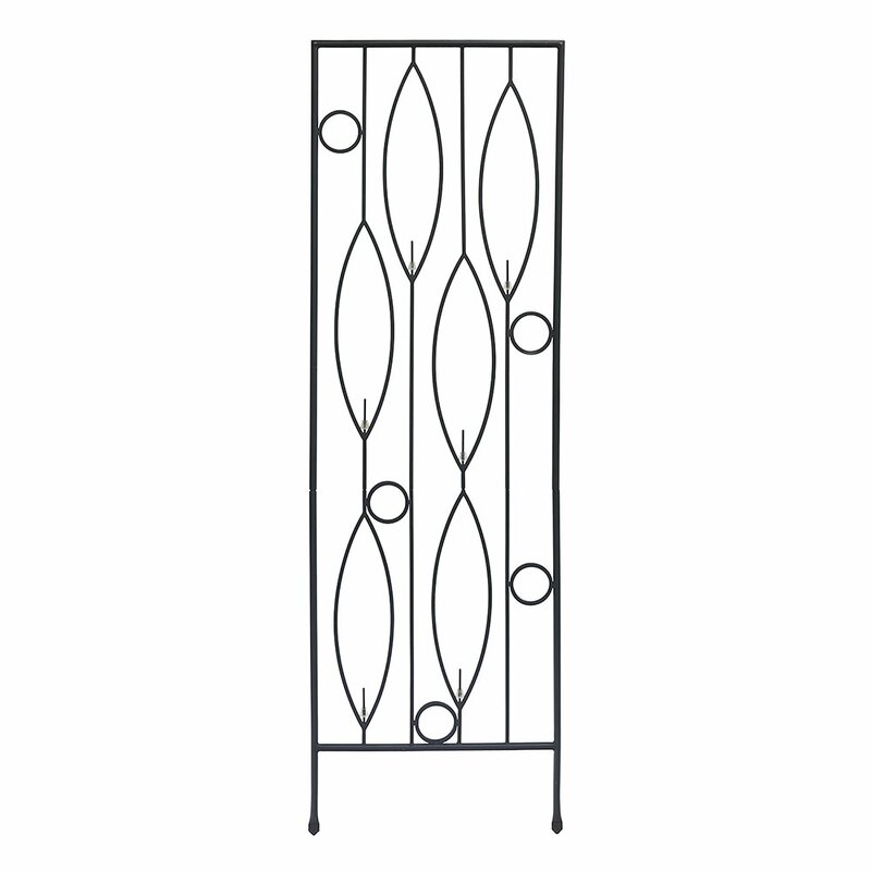 Vinifera Bottle Iron Gothic Trellis