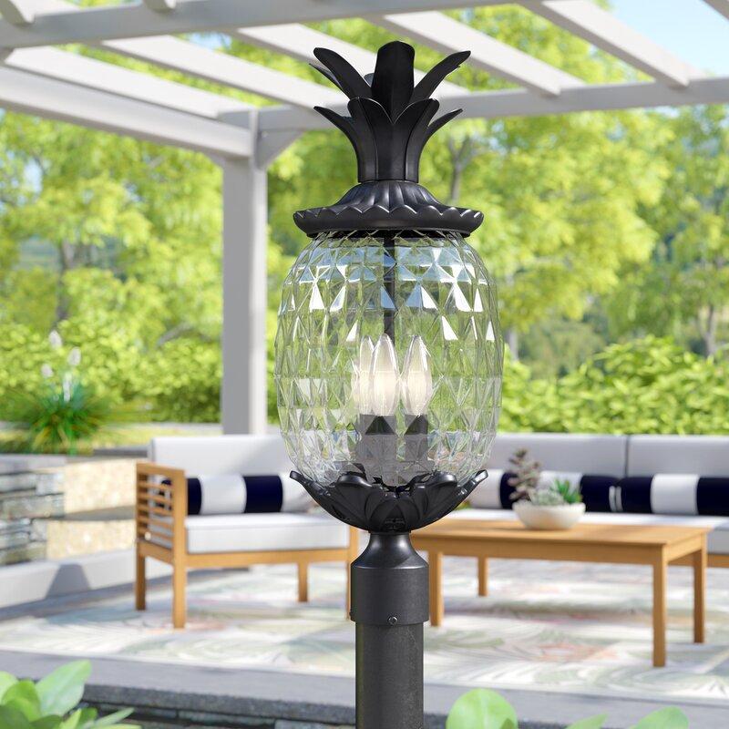 Kyra Outdoor 3-Light Lantern Head