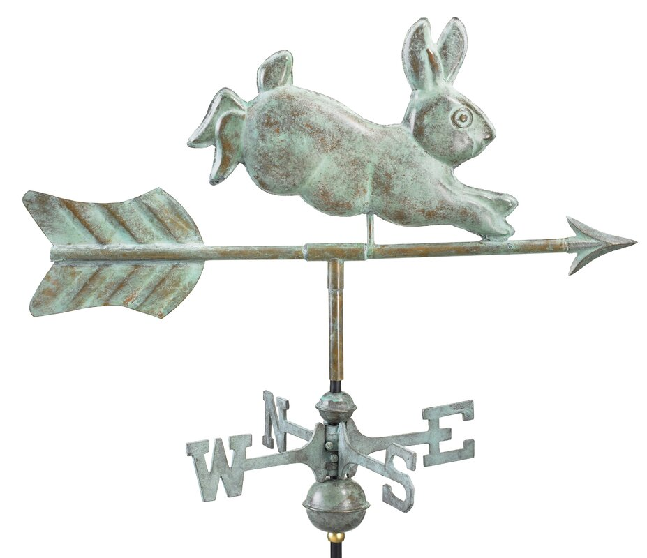 Cottage Rabbit Weathervane