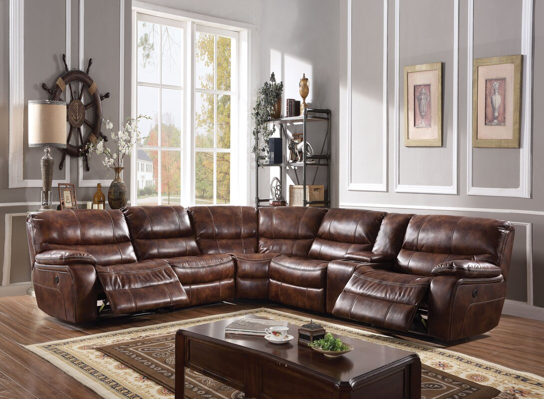 Gaiter Power Motion Reclining Sectional