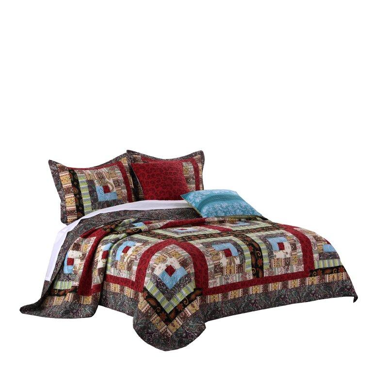 Parkdale Colorado Lodge Bonus Reversible Quilt Set