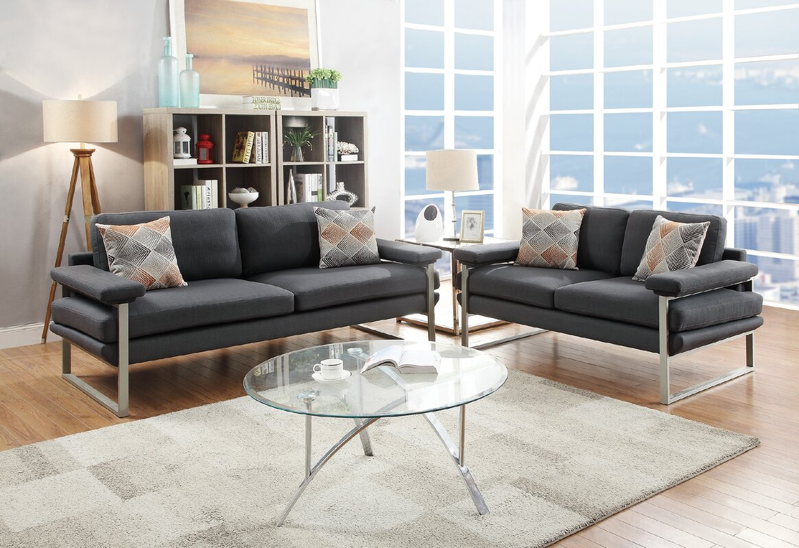 Stroh 2 Piece Living Room Set