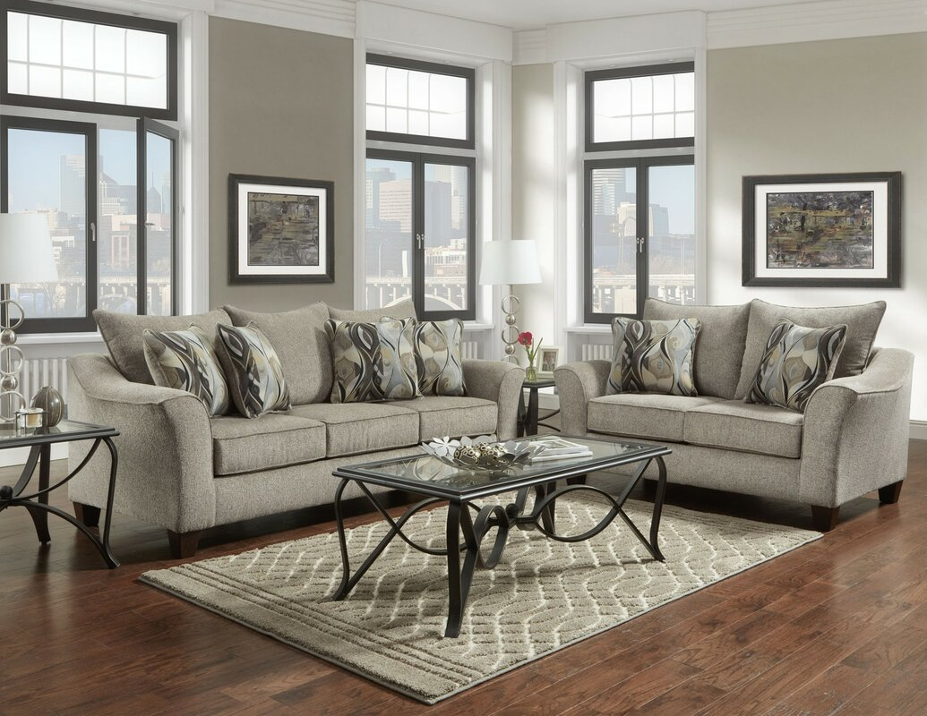 Hartsock 2 Piece Living Room Set