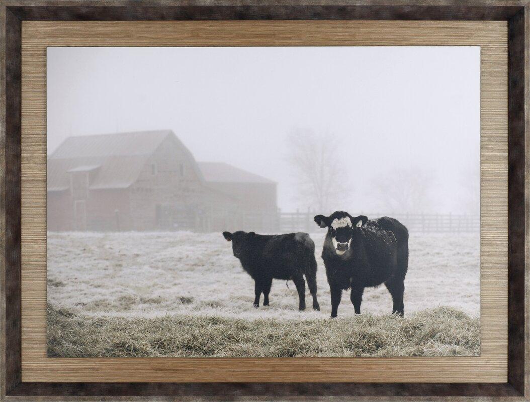 'Farm Study III' Framed Photographic Print