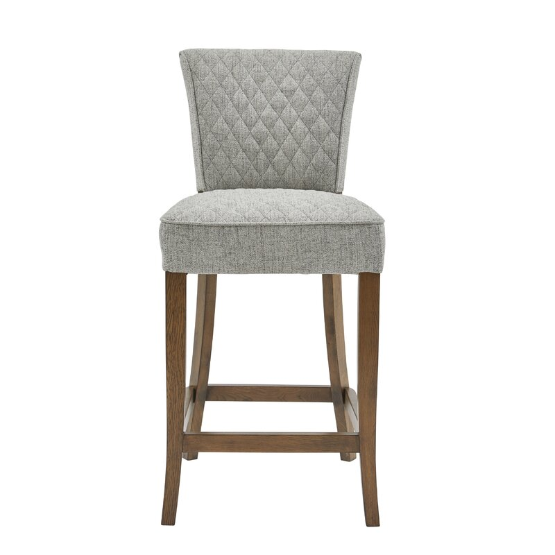 Highline Quilted Bar Stool