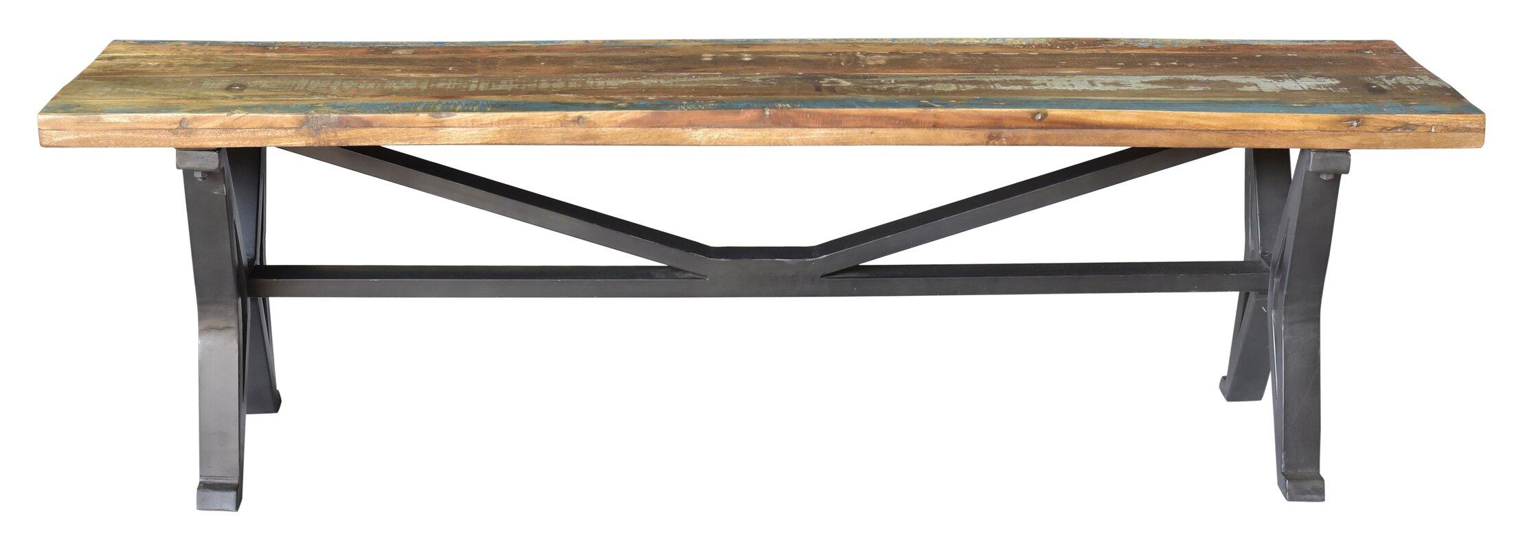 Minerva Colorado Old Top Wood Bench