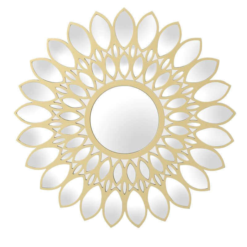 Teminot Daisy Glam Flower Accent Mirror