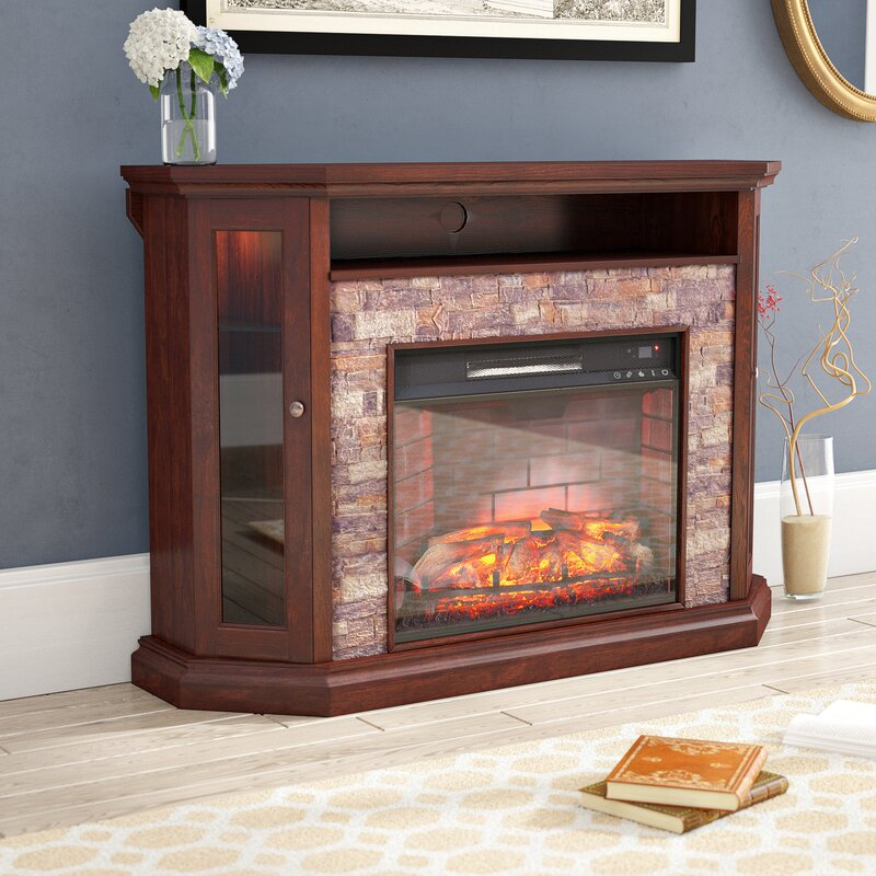 "Montpelier TV Stand for TVs up to 50"" with Fireplace"