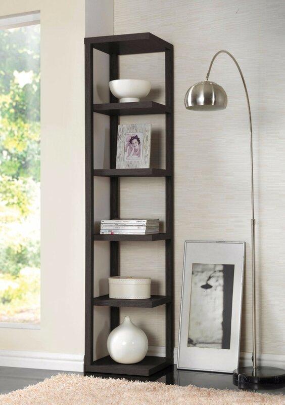 Ginder Corner Bookcase
