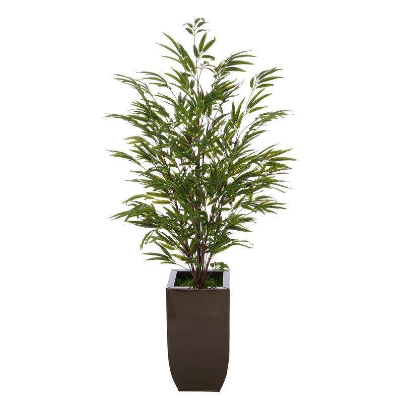 Artificial Floor Bamboo Tree in Planter