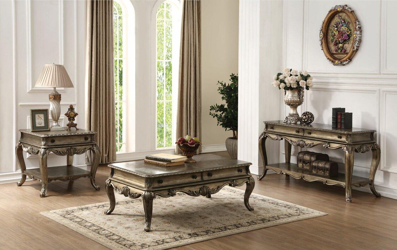 Lorentz3 Piece Coffee Table Set