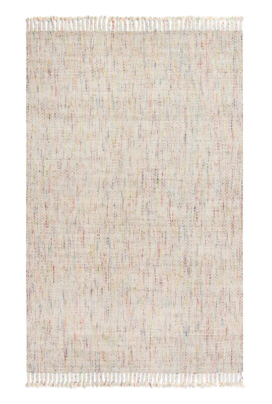 Parthi Hand-Woven Ivory Area Rug
