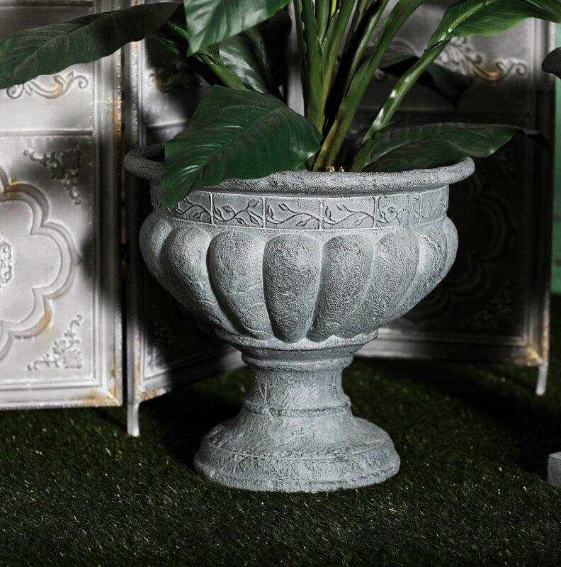 Duchesne Resin Urn Planter