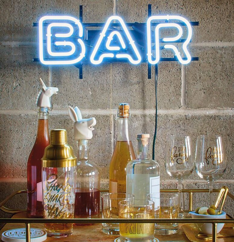 BAR Neon Sign Wall Light